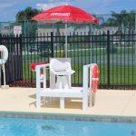 NEPTUN úszómesteri platform forgó székkel (740)