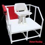 NEPTUN mobil úszómesteri platform forgó székkel (810 WH)