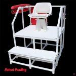 NEPTUN mobil úszómesteri platform forgó székkel (820 WH)
