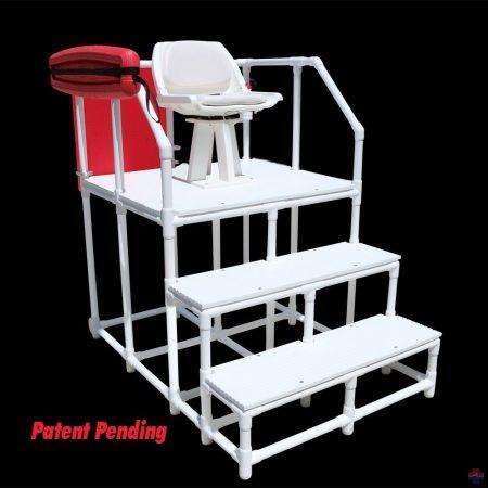 NEPTUN mobil úszómesteri platform forgó székkel (830 WH)