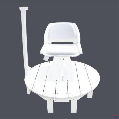 NEPTUN mobil kerek úszómesteri platform forgó székkel (7000)