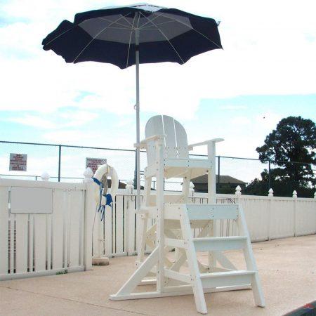 NEPTUN Közepes előllépcsős úszómesteri szék (2 lépcsős) (525)