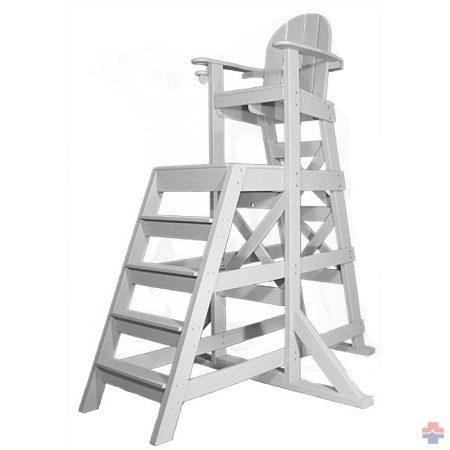 NEPTUN magas előllépcsős úszómesteri szék (4 lépcsős) (535)