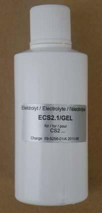 Elektrolit ECS2.1/GEL (CS2.1N, CS2.3N, CS4N elektródákhoz és M48.2G és M48.4E membránkupakokhoz)