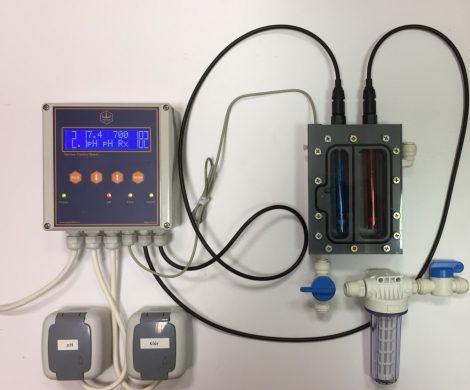 GENIUS BASIC Rx-pH mérő-szabályozó berendezés