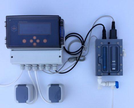 GENIUS Cs-pH mérő-szabályozó berendezés