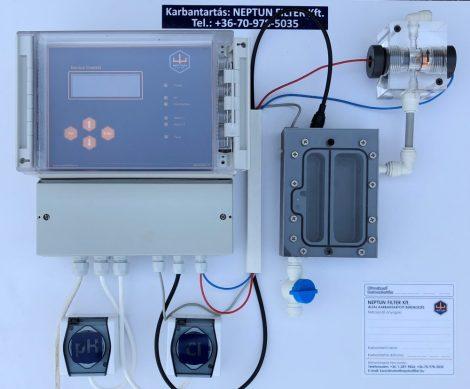GENIUS 3 CLK-pH Mérő-Szabályozó berendezés