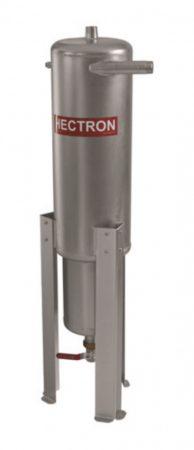 """HECTRON HN homokleválasztó hidrociklon előszűrő, rozsdamentes acél, hengeres, 2"""" - DN50"""