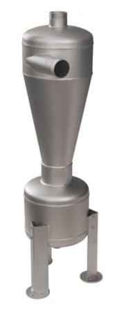 """HECTRON HNC homokleválasztó hidrociklon előszűrő, rozsdamentes acél, kúpos, 4"""" - DN100"""