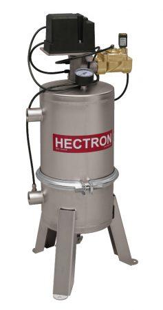 """AG100 HECTRON automata szkenneres dobszűrő/előszűrő ivóvízre, kútvízre (1"""", 8m3/h, 6-500mikron)"""