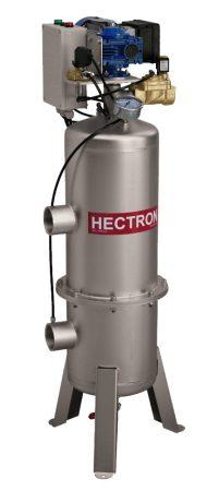 """AG200 HECTRON automata szkenneres dobszűrő/előszűrő ivóvízre, kútvízre (2"""",8-45m3/h, 1-500mikron)"""