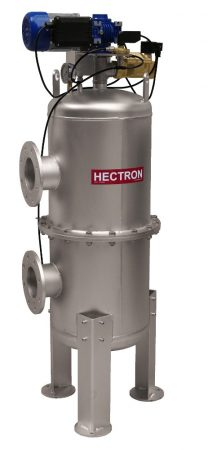 """AG300 HECTRON automata szkenneres dobszűrő/előszűrő ivóvízre, kútvízre (3"""", 20-120m3/h, 1-500mikron)"""