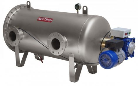 AG400 HECTRON automata szkenneres dobszűrő/előszűrő ivóvízre, kútvízre (DN150, 55-340m3/h, 1-500mikron)