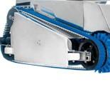 HEXAGONE EXPRESSO bordázott szíj (kék hernyótalp)
