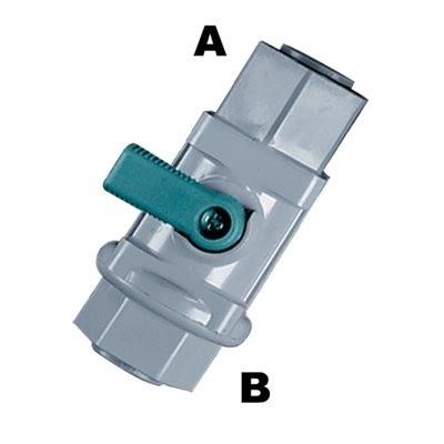 MD Golyóscsap, 2x Mur-lok (6 mm) Gyorscsatlakozó karmantyú (G0420425)