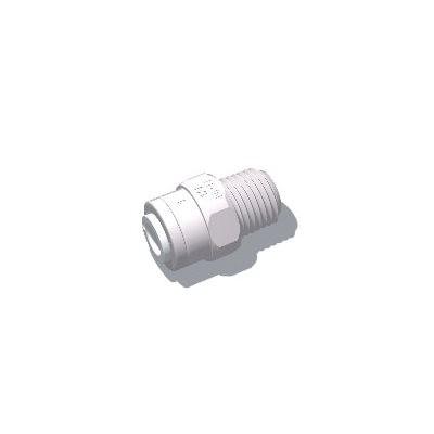 "MD Adapter, Menet (G3/8"") - Mur-lok (6 mm) Gyorscsatlakozó karmantyú (O0420616)"