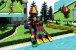 MODUL TOBOGAN 0017 Csúszdás vizes játszótér
