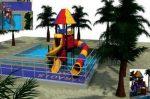 MODUL TOBOGAN 0018 Csúszdás vizes játszótér