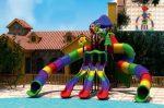 MODUL TOBOGAN 0020 Csúszdás vizes játszótér