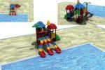 MODUL TOBOGAN 0027 Csúszdás vizes játszótér