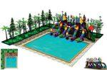 MODUL TOBOGAN 1001 Csúszdás vizes játszótér