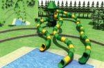 MODUL TOBOGAN 1024 Csúszdás vizes játszótér