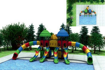 MODUL TOBOGAN 1030 Csúszdás vizes játszótér