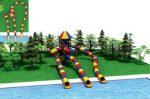 MODUL TOBOGAN 1031 Csúszdás vizes játszótér