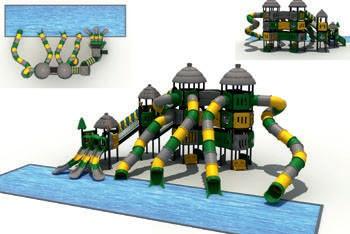 MODUL TOBOGAN 1034 Csúszdás vizes játszótér