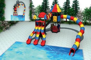 MODUL TOBOGAN 1049 Csúszdás vizes játszótér