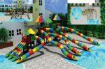 MODUL TOBOGAN 1051 Csúszdás vizes játszótér