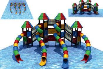 MODUL TOBOGAN 1055 Csúszdás vizes játszótér