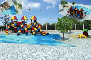 MODUL TOBOGAN 1059 Csúszdás vizes játszótér