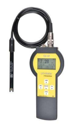 TM 40 HORDOZHATÓ KÉZI MÉRŐ (pH, mV, ISE és hőmérséklet mérésére)