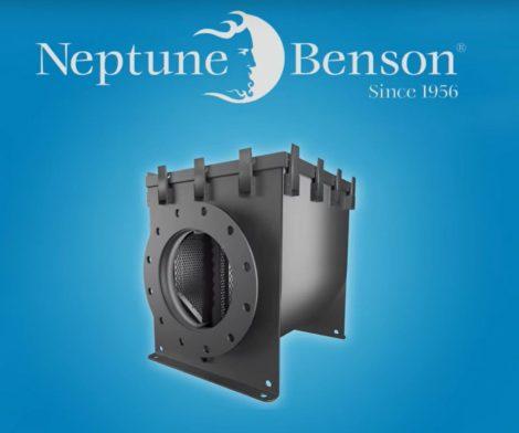 Neptune-Benson Pro Strainer uszodai hajfogó-előszűrő DN300, P31212SC