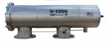 VAF V-1000 szkenneres dobszűrő DN150-200