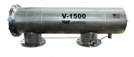 VAF V-1500 szkenneres dobszűrő DN200-250
