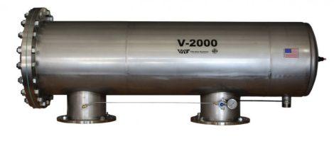 VAF V-2000H szkenneres dobszűrő DN250-DN300