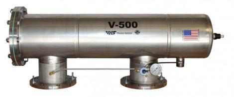 VAF V-500 szkenneres dobszűrő DN100-150