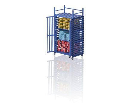 MILDA XLT - Gurulós szekrény, felső tárolórésszel