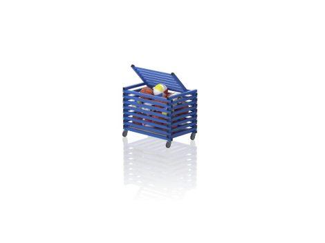 VILI TOP - Görgős tároló tetővel (vízszintes rácsozás)